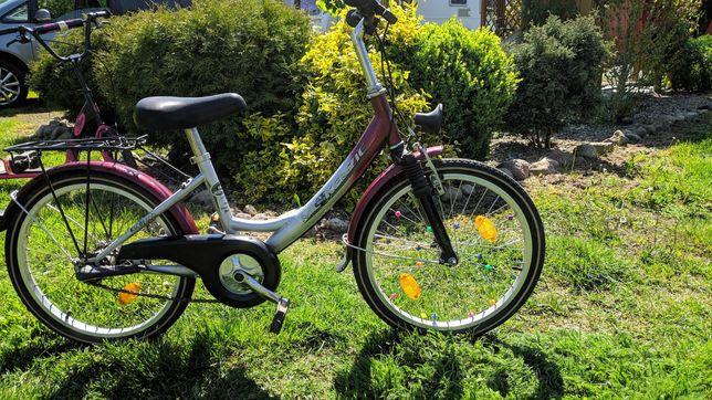 rower rowerek rama 13 koła 20 dla dzieci stan bdb