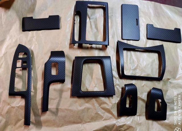 Zestaw Dekorów Wnętrza Honda Accord VII 7 Carbon dokładki Listwy graf
