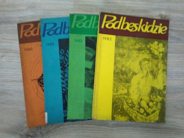 Zestaw 4 szt-Wydawnictwo BESKIDZKA OFICYNA WYDAWNICZA BTSK 1983, 1982