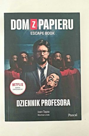 Dom z papieru escape book