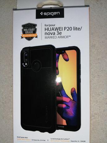 Etui ochronne na Huawei P20 lite, marki SPIGEN, anty shock.