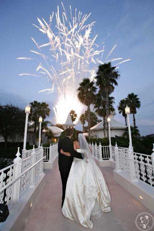Pokaz fajerwerków, sztucznych ogni, wesele, urodziny, impreza firmowa