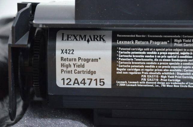Lexmark X422 12A4715 ORYGINAŁ