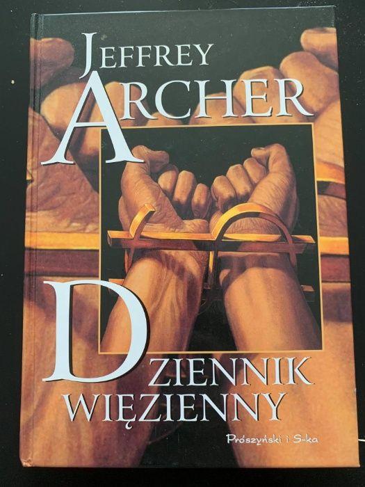 Zestaw Dzienników Więziennych Jeffrey Archer Warszawa - image 1
