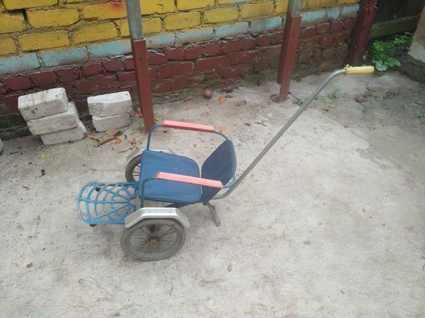 Советская детская коляска