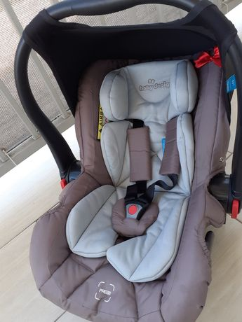 Fotelik-nosidełko baby design Leo 09 beige