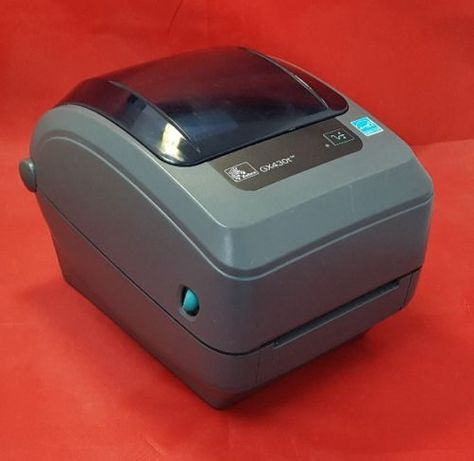Термотрансферный принтер Zebra GX430t с разрешение печати: 300dpi