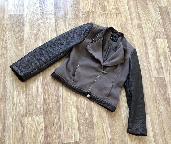 Куртка косуха весенняя кожанка