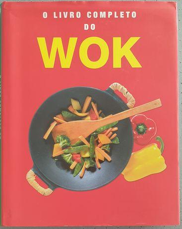 Livro receitas Wok