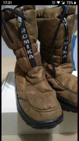 Buty damskie śniegowce