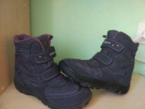 Сапоги ботинки geox для девочки