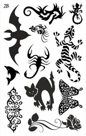 Tatuaż zmywalny Tribale 2B - oferta producenta