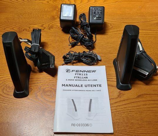 Transmissor e Recetor Wireless 2.4Hz Fenner