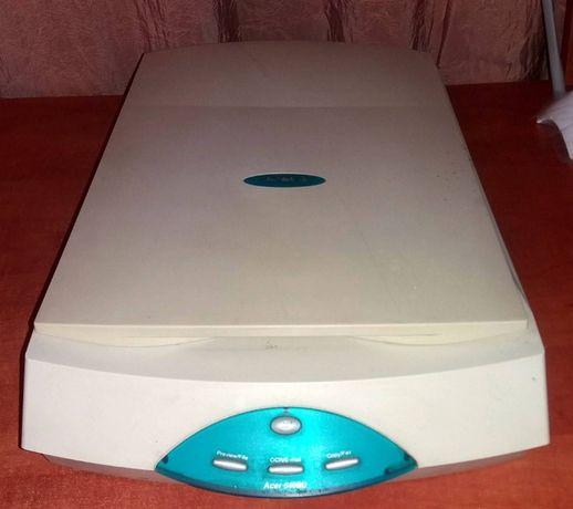 Планшетный однoпpoxодной сканер Acer 640BU