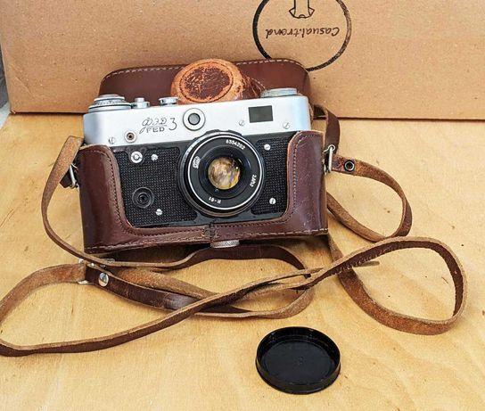 Продам фотоаппарат ФЭД-3 (футляр + инструкция)