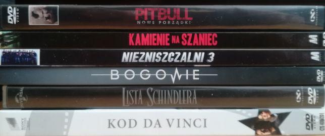 Filmy DVD 5.1 Pitbull, Niezniszczalni 3, Bogowie, Kod da Vinci itp.