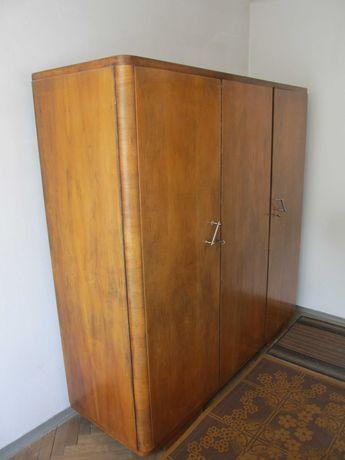 Szafa drewniana z 1957 r. lata 50 PRL antyk
