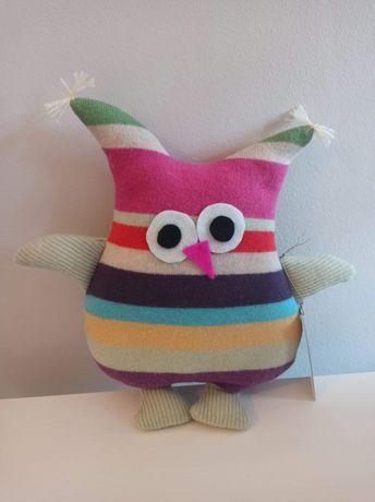 Sowa  - pluszak handmade.