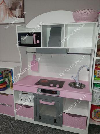 Детская игровая кухня. Кухня для девочки, ігрова кухня для дівчинки
