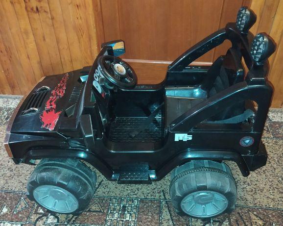 Детская машина Force Land на аккумуляторе, джип,игрушки,игрушка