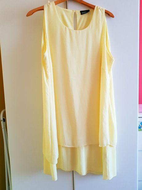 Żółta sukienka rozm. 48