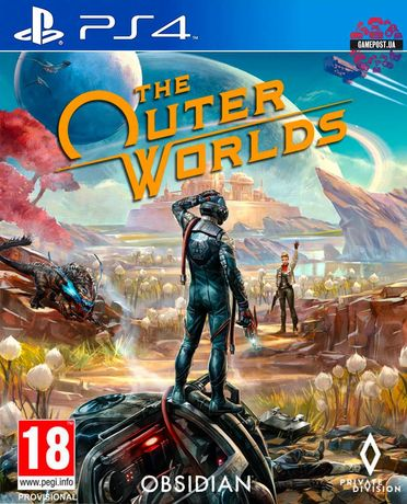 Jogo The Outer Worlds ps4