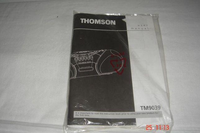 Radioodtwarzacz THOMSON TM9039 instrukcja obsługi