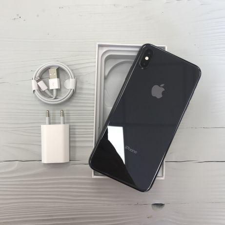 iPhone XS max 64 gb space gray neverlock, гарантия/Trade-in/в идеале