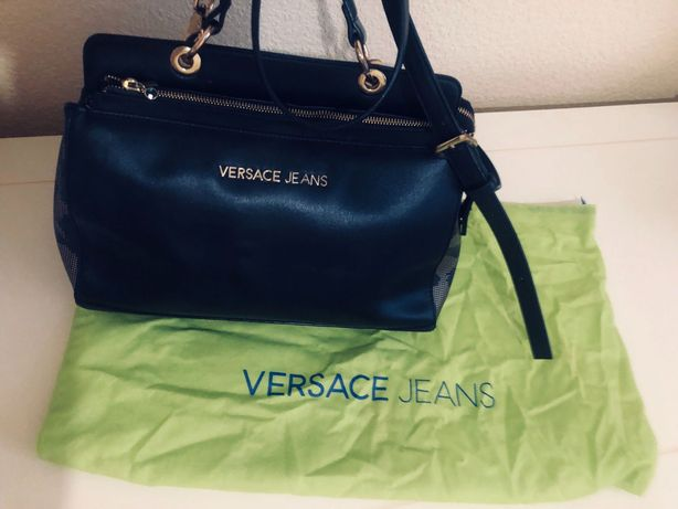 Сумка Versace Jeans, оригинал, натуральная кожа