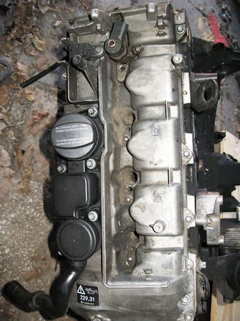 Silnik Mercedes W203 2,2 cdi uszkodzony