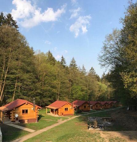 Продам туристичну базу 7542м2 в Празі (Чехія) srubový resort
