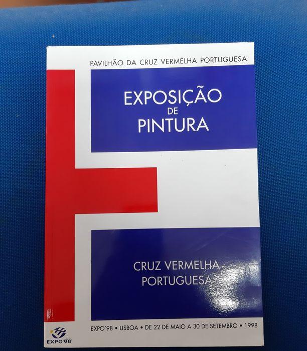 Exposição pintura Expo 98 C.V Portuguesa. Rio Tinto - imagem 1