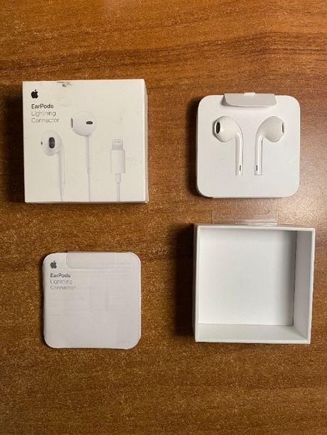 Nowe słuchawki Apple Earpods Lightning