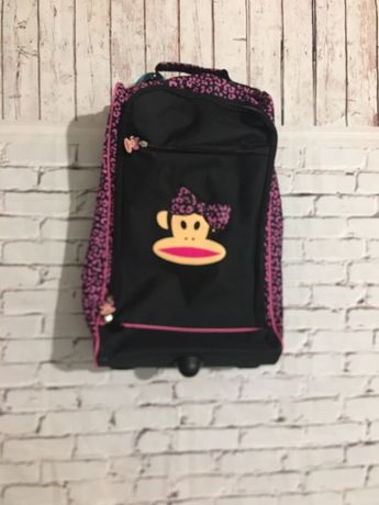 Чемодан на колесиках детский, сумка дорожна