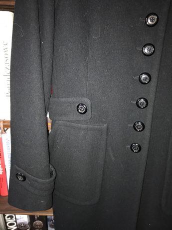 Wiosenny płaszczyk SIMPLE czarny r.42
