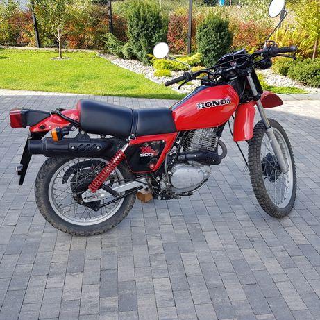 Honda XL 500 PD01, oryginał, unikat, stan b.dobry, zarejestrowany