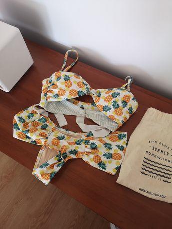 Bikini Cantê estampado