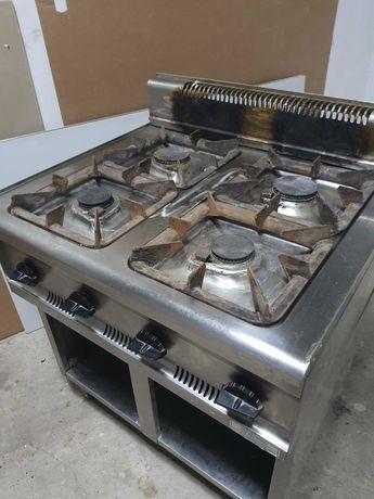 Przemysłowa kuchnia kuchenka gazowa