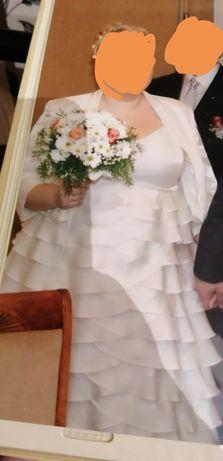 Suknia ślubna rozm 48