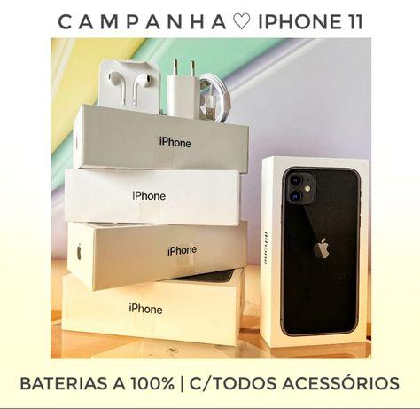 iPhones 11   128 GB   Novos SEM USO