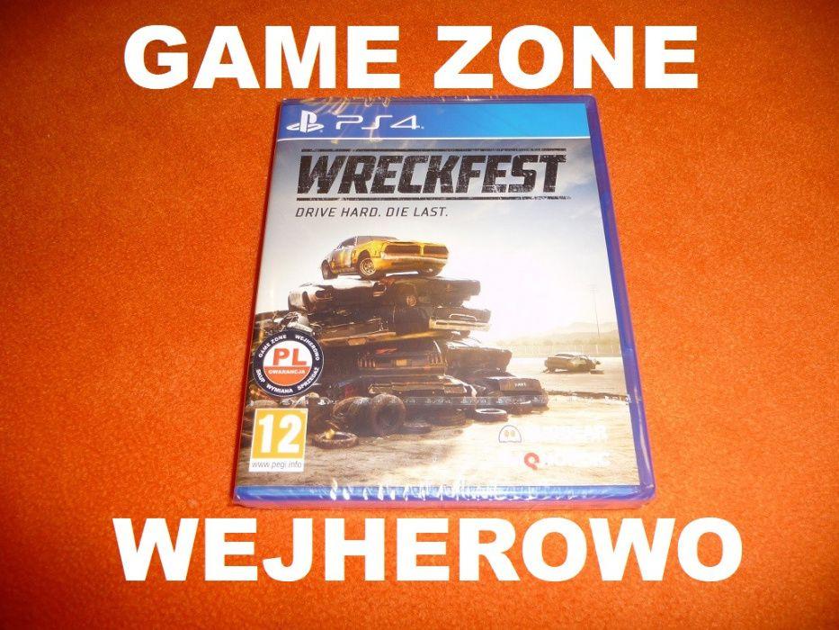 Wreckfest PS4 + Slim + Pro + PS5 PŁYTA PL Wejherowo Destruction Derby