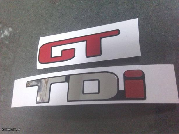 Autocolante Seat Ibiza GT TDI