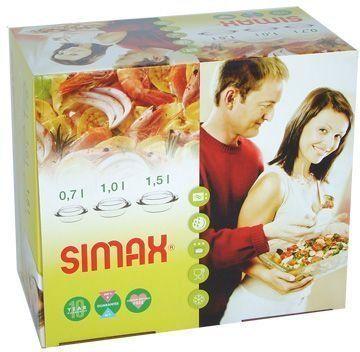 Новая Стеклянная посуда Simax 6 предметов