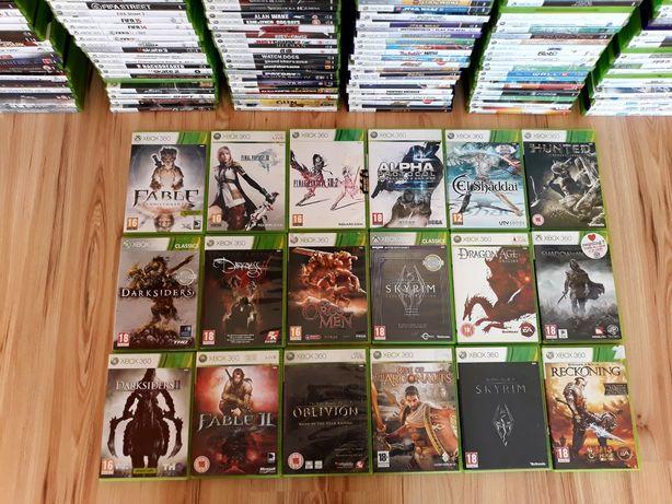 Final Fantasy Skyrim Cień Mordoru gry Xbox 360