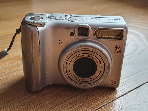 Aparat Fotograficzny Canon Power Shot A530
