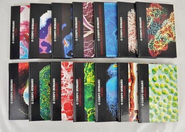 Colecção O Corpo Humano 14 volumes sobre vários temas do corpo humano