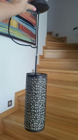 Żyrandol Lampa Massive metalowa w stylu industrialnym