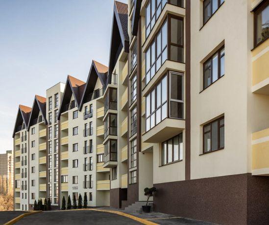 Видовая 3к квартира, новый дом, красный кирпич. Метро пешком! Без %