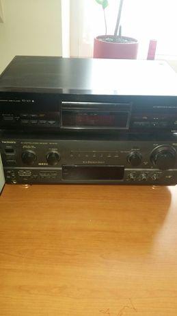 Wzmacniacz technics plus odtwarzacz CD pionier GRATIS