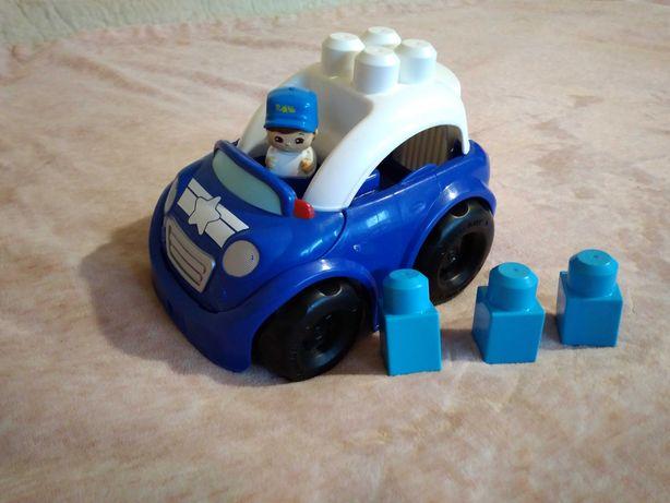 Samochodzik policyjny Mega bloks